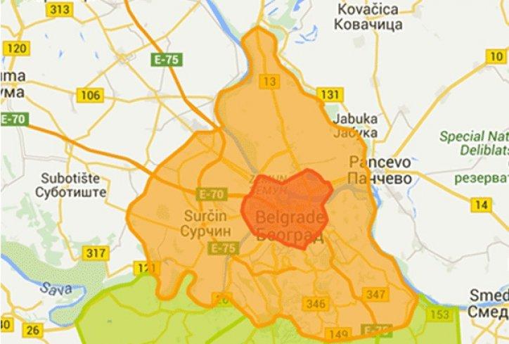 Novi Tarifni Sistem Zone Mapa Beograd Foto Beoinfo 1443695316