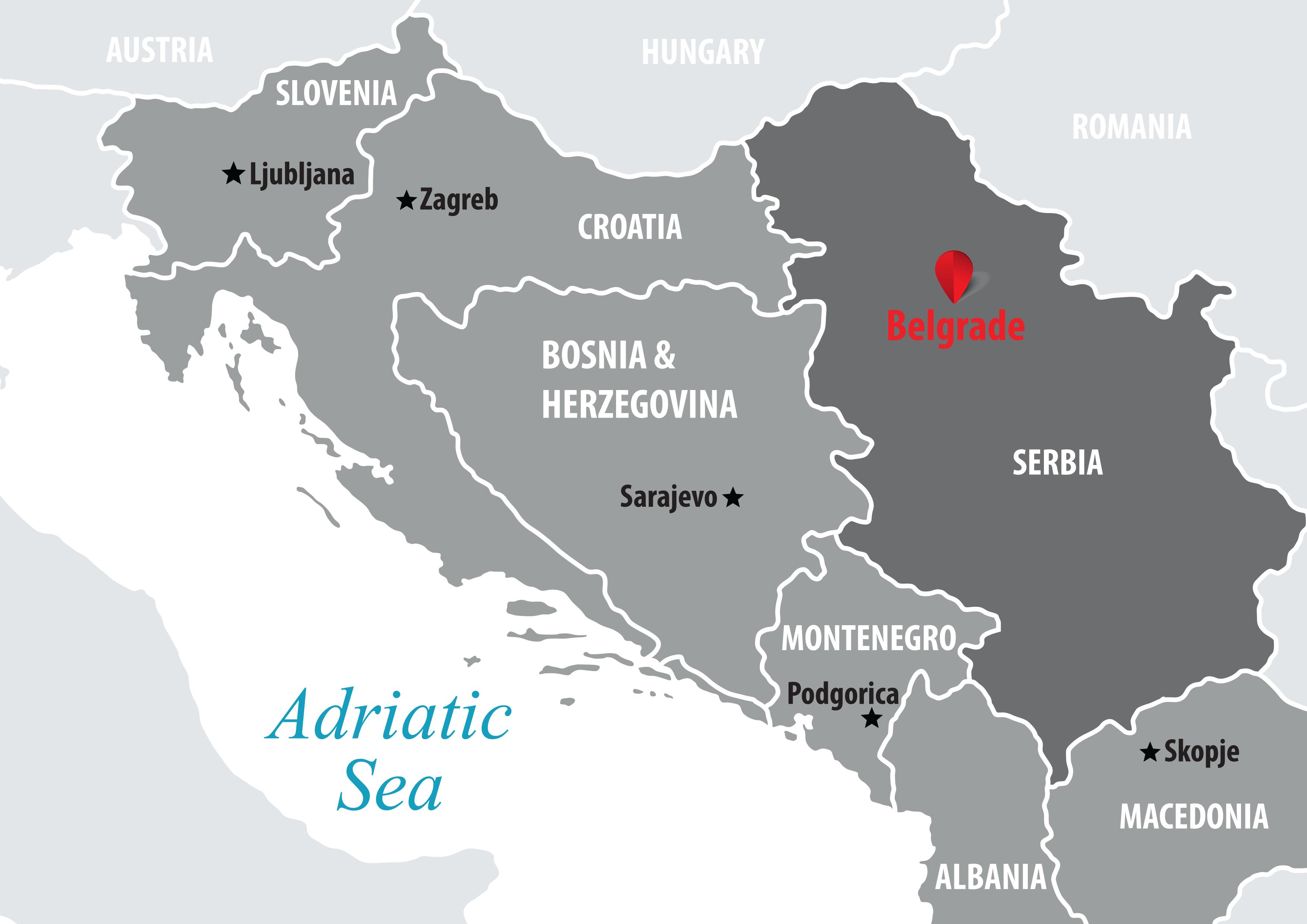 hotel holiday inn beograd mapa Belgrade   Balkan Travel Centar hotel holiday inn beograd mapa